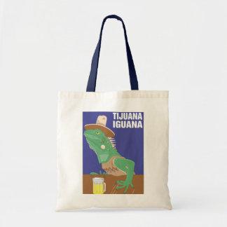 Diseño de la iguana de Tijuana Bolsa De Mano