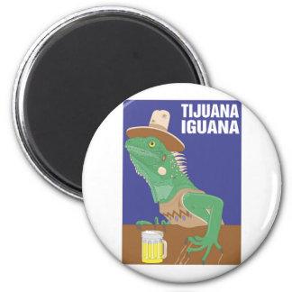 Diseño de la iguana de Tijuana Imán De Frigorifico