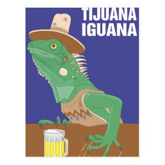 Diseño de la iguana de Tijuana Postal