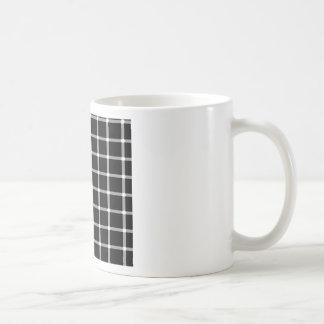 Diseño de la ilusión óptica de la rejilla taza clásica