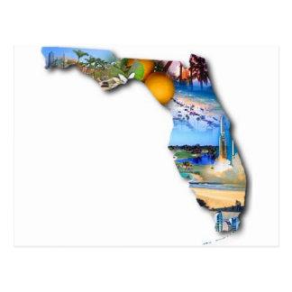 DISEÑO DE LA IMAGEN DE LA FLORIDA TARJETA POSTAL