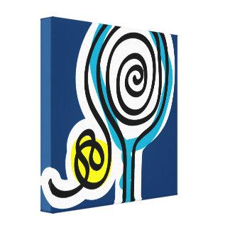 Diseño de la impresión del arte de la pared de la  impresión en lienzo estirada