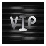 Diseño de la invitación del VIP
