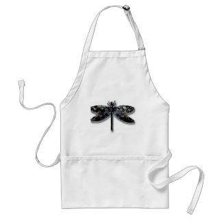 Diseño de la libélula delantal