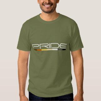 Diseño de la línea aerodinámica de los colores del camisas