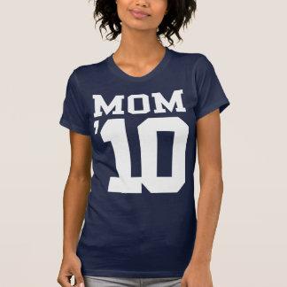 Diseño de la mamá '10 remera