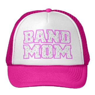 Diseño de la mamá de la banda del equipo universit gorros bordados