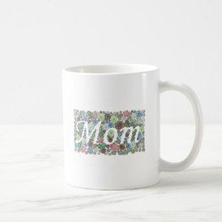 Diseño de la mamá de los Succulents Taza De Café
