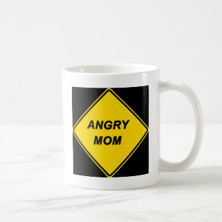 "Diseño de la ""mamá enojada"" tazas"