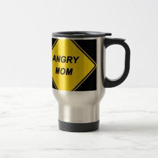"Diseño de la ""mamá enojada"" taza"