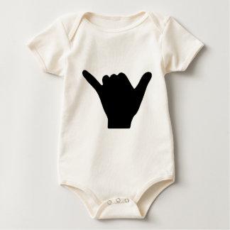 Diseño de la mano de Shaka Body Para Bebé