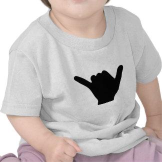 Diseño de la mano de Shaka Camiseta