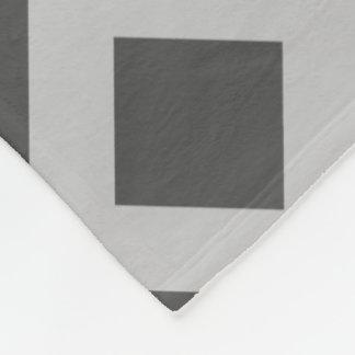 Diseño de la manta del paño grueso y suave, oscuro manta de forro polar