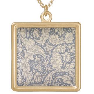 "Diseño de la ""margarita"" (materia textil) collar dorado"
