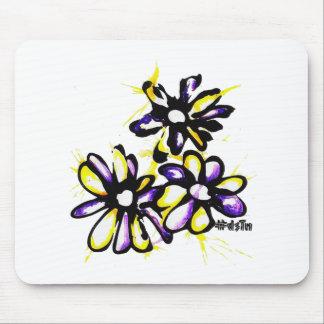 Diseño de la margarita mouse pads
