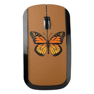 Diseño de la mariposa de monarca ratón inalámbrico