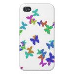 diseño de la mariposa iPhone 4 cobertura