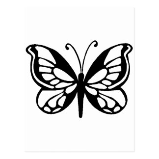 diseño de la mariposa postal