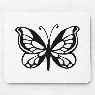diseño de la mariposa tapete de ratón