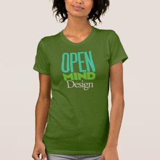 ¡Diseño de la mente abierta! Playera