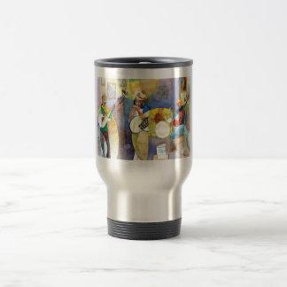 Diseño de la música de los azules del delta taza de café