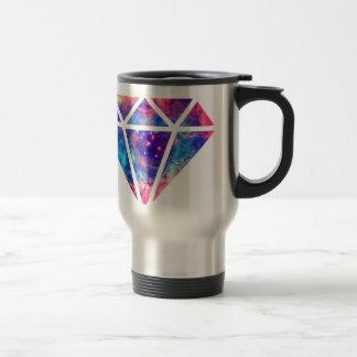 Diseño de la nebulosa del diamante taza