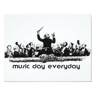 ¡Diseño de la orquesta para el día de la música!