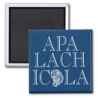 Diseño de la ostra de Apalachicola la Florida Imanes De Nevera