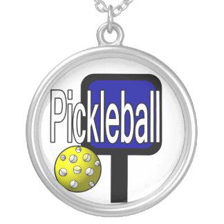 Diseño de la paleta de Pickleball y del collar de