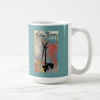 Diseño de la paleta del arte del vagabundo de la taza de café