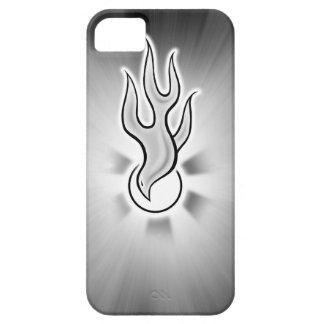 Diseño de la paloma de la llama del Espíritu Santo iPhone 5 Cárcasa