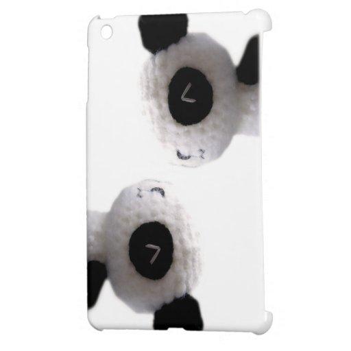 diseño de la panda iPad mini funda