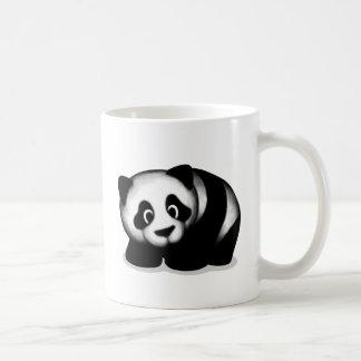 Diseño de la panda tazas