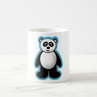 Diseño de la panda taza de café