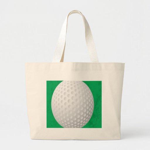 Diseño de la pelota de golf bolsa