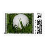 Diseño de la pelota de golf en sellos