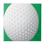 Diseño de la pelota de golf tejas  ceramicas