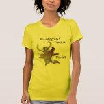 Diseño de la persona que practica surf de la Flori Camisetas