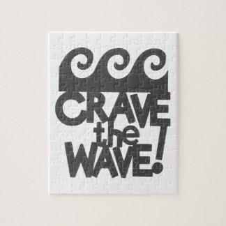 diseño de la persona que practica surf rompecabezas con fotos
