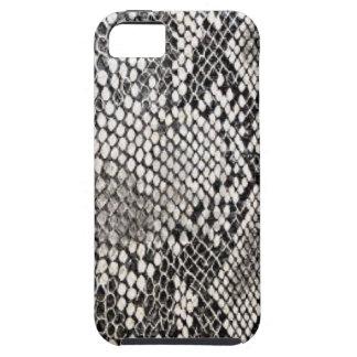 Diseño de la piel de serpiente iPhone 5 carcasas