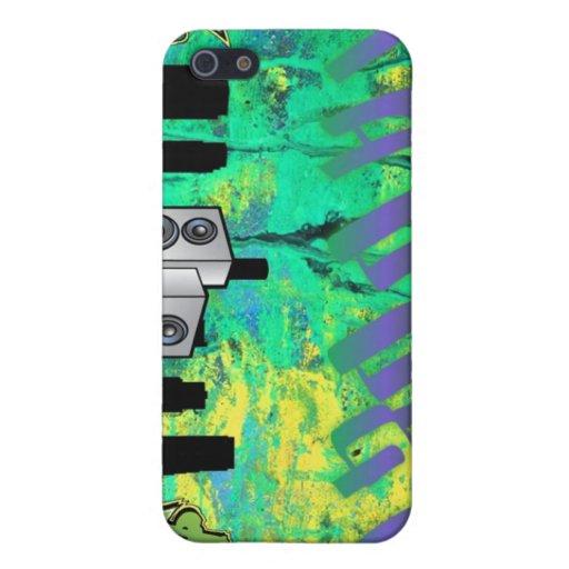 Diseño de la pintada del golpeador iPhone 5 cárcasas