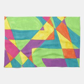 Diseño de la pintura original toalla