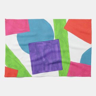 Diseño de la pintura original toalla de cocina