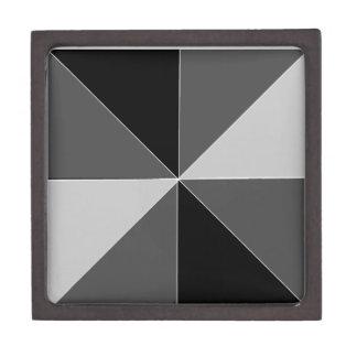 Diseño de la pirámide cajas de joyas de calidad