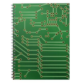 Diseño de la placa de circuito libro de apuntes