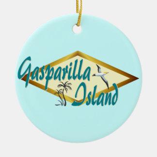 Diseño de la playa de la Florida de la isla de Gas Adorno Para Reyes
