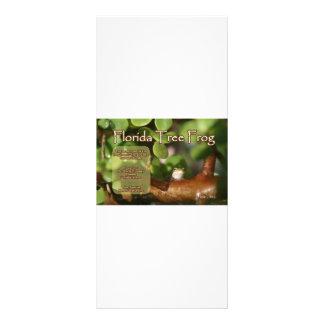 Diseño de la rana arbórea de la Florida con el tex Lonas