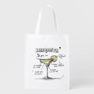Diseño de la receta de la bebida de Margarita Bolsas De La Compra