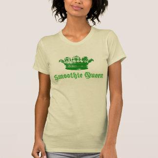 Diseño de la reina del Smoothie de la corona Camiseta