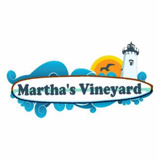"Diseño de la ""resaca"" del Martha's Vineyard Escultura Fotográfica"